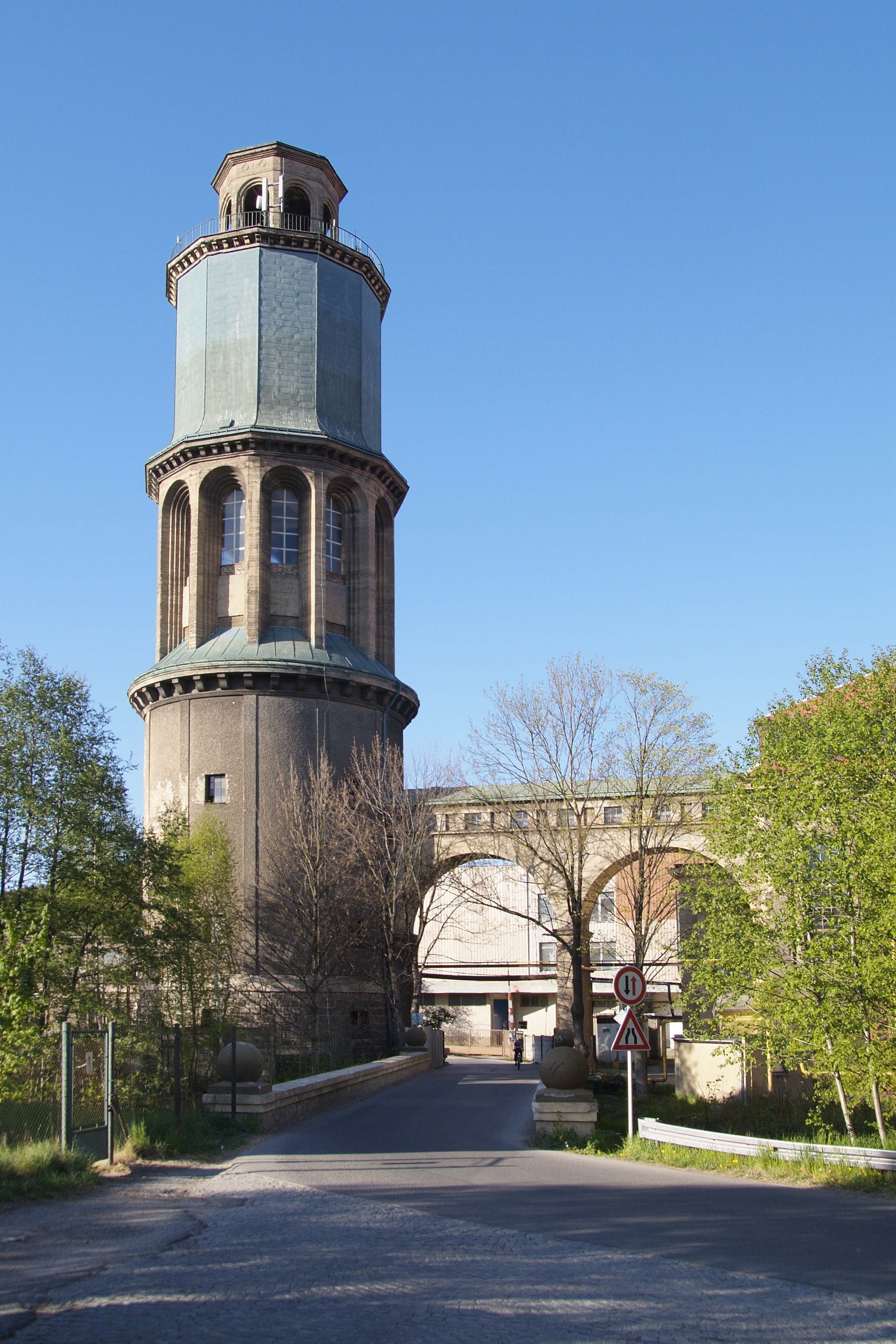 Zauhlovací a vodárenská věž