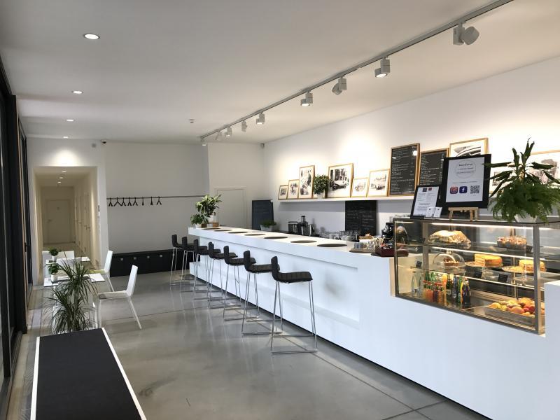 Kavárna v rodném domě Ferdinanda Porsche