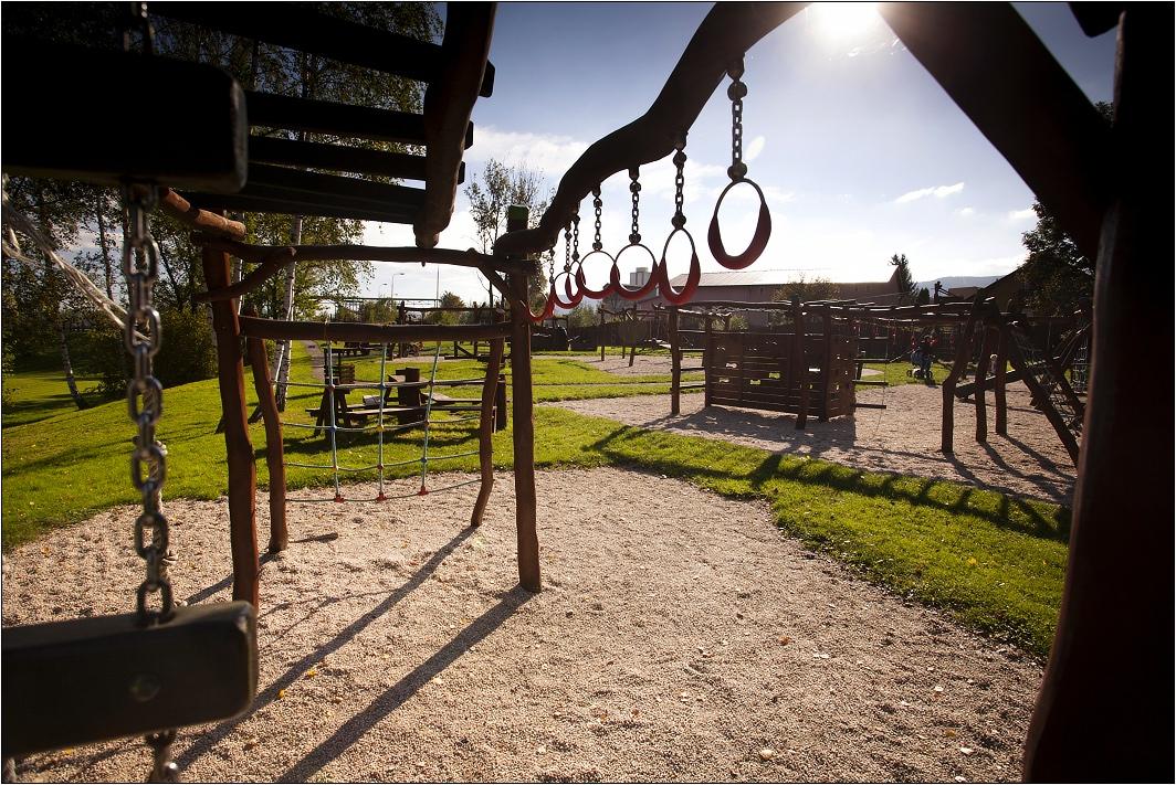 Dětské hřiště ve Sport Parku Liberec