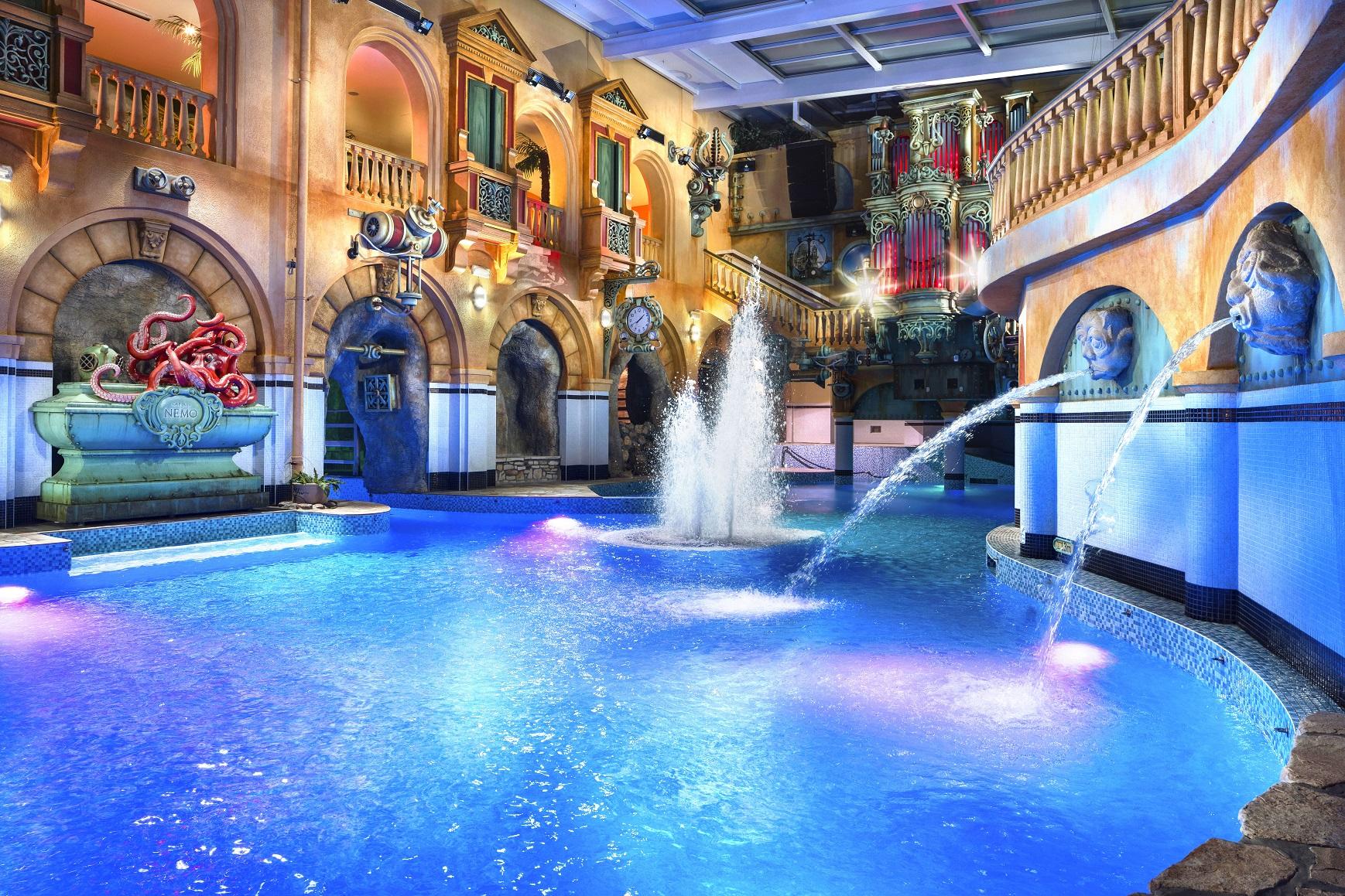 Aquapark v Centru Babylon