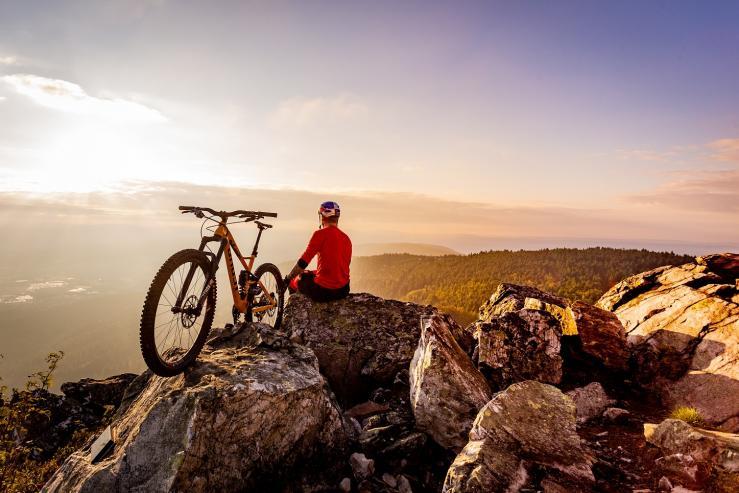 Cyklovýlet na Ještěd