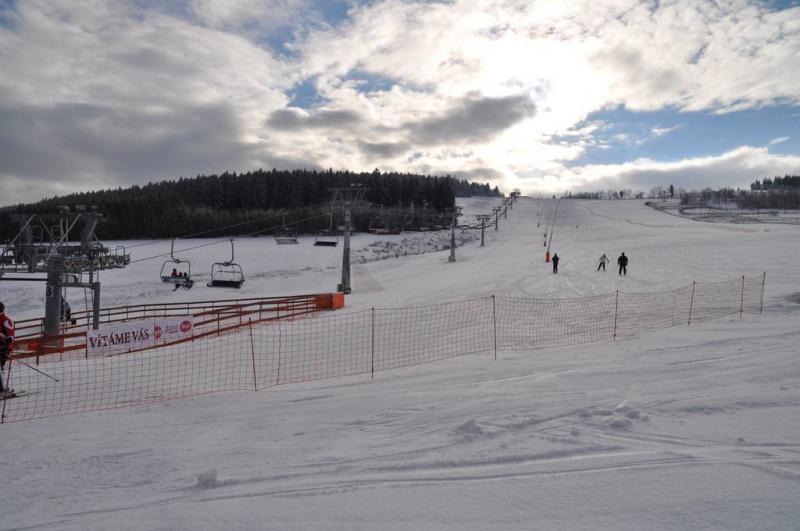 Ski areál Obří sud Javorník
