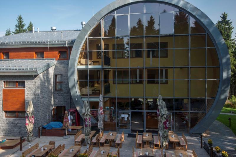 Všesportovní areál Obří sud Javorník - restaurace
